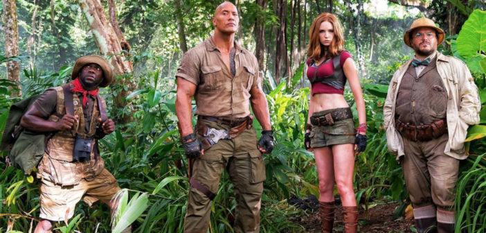 Jumanji: Welcome to the Jungle chega aos cinemas em janeiro