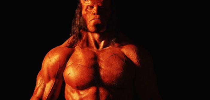Primeira imagem do novo Hellboy!